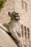 Tierwand-Löwin Lizenzfreies Stockfoto