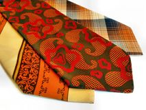 Ties Royalty Free Stock Photo