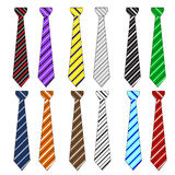 Ties collection Royalty Free Stock Photography