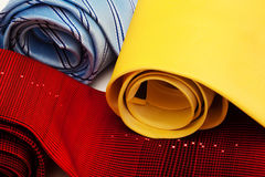 Ties convoluted close up Stock Photos