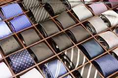 Ties on Display Stock Image