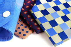 Ties and shirt Royalty Free Stock Image