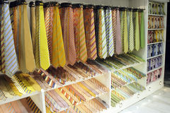 Ties shop Stock Photography