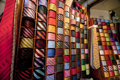 In the Ties Shop Stock Image