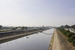 Tietê River - São Paulo - Brazil Royalty Free Stock Photos