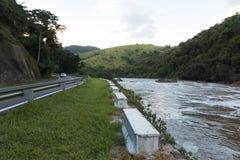 Tiete flod royaltyfri fotografi