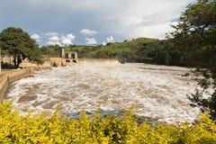 Tiete River. In Itu, SP, Brazil stock image