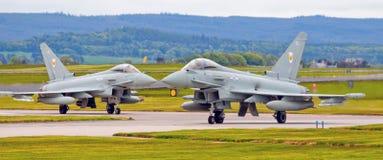Tifón del eurofighter de R A F Foto de archivo libre de regalías