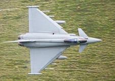 Tifón militar del jet Imágenes de archivo libres de regalías