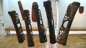 Tifa传统乐器 免版税图库摄影