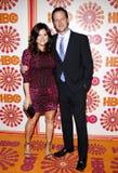 Tiffani Thiessen e Brady Smith fotografia stock libera da diritti