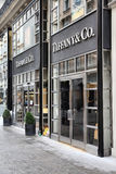 tiffany co royaltyfri bild