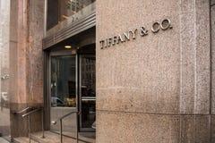 Tiffany & Co NYC Stock Afbeeldingen