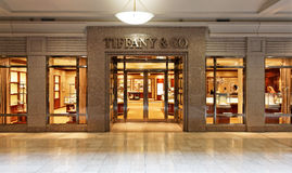 Tiffany & Co. Store Stock Photography