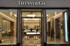 Tiffany & Co store at King of Prussia Mall in Pennsylvania Stock Photo
