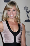 Tiffany Coyne arrives at the ATAS Daytime Emmy Awards Nominees Reception Stock Photos