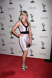 Tiffany Coyne arrives at the ATAS Daytime Emmy Awards Nominees Reception Royalty Free Stock Photography