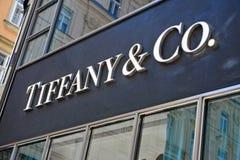 Tiffany e Co Immagine Stock