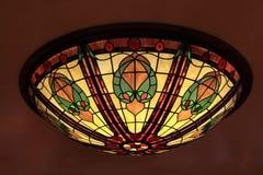 Tiffany Lamp Royalty-vrije Stock Foto's