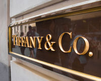 Tiffany NYC Lizenzfreies Stockfoto