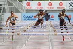Tiffany Porter - 100 m-hindernissen Stock Fotografie