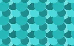 Tiffany Random Circles Pattern Background illustration stock