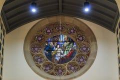 Tiffany's drawaing at First United Methodist Church of Pasadena Stock Image