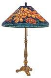 Tiffany Stołowa lampa Obraz Royalty Free