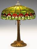 Tiffany-Tabellen-Lampe Lizenzfreies Stockbild