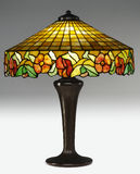 Tiffany Table Lamp Stock Photos