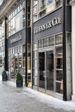 Tiffany und Co lizenzfreies stockbild