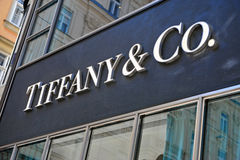 Tiffany und Co Stockbild