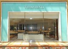 Tiffany y el Co Imágenes de archivo libres de regalías