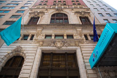 Tiffanys华尔街 免版税库存图片