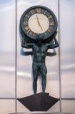 Tiffanys时钟在芝加哥 库存图片
