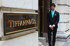 Tiffanys NYC Photographie stock libre de droits