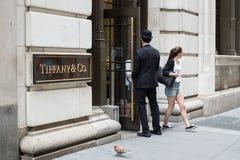Tiffanys NYC Stock Images