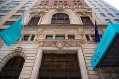 Tiffanys Wall Street Immagine Stock Libera da Diritti