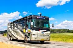 Tiffin Allegro buss Arkivbilder