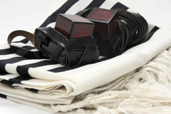 Tifillin and Talit Royalty Free Stock Photography
