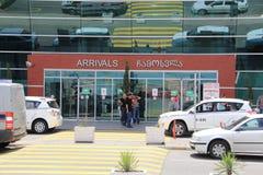 Tiflis-Flughafen Stockbild