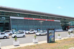 Tiflis-Flughafen Lizenzfreie Stockbilder