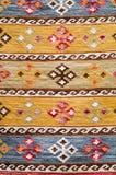 TIFLIS, GEORGIA, im März 2017:- bunter Teppich mit mit beauti Stockbild