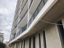 TIFLIS, GEORGIA - 17. MÄRZ 2018: Bau eines neuen hohen Wohnwohngebäudes in Tiflis, Georgia Lizenzfreie Stockbilder