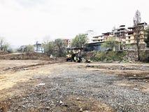 TIFLIS, GEORGIA - 27. MÄRZ 2018: Bau eines neuen hohen Wohnwohngebäudes in Tiflis, Georgia Stockfoto