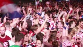 Tifosi croati video d archivio