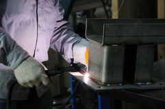 Tig Welding Royalty Free Stock Images