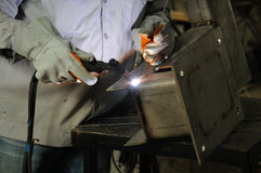 Tig Welding Royalty Free Stock Image