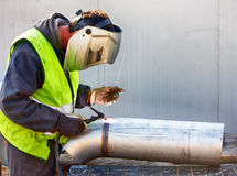 Tig welding Royalty Free Stock Image