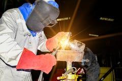 Tig welding Royalty Free Stock Photos